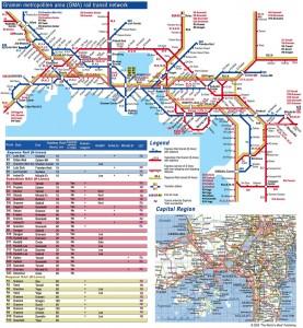 Gramen regional railway network