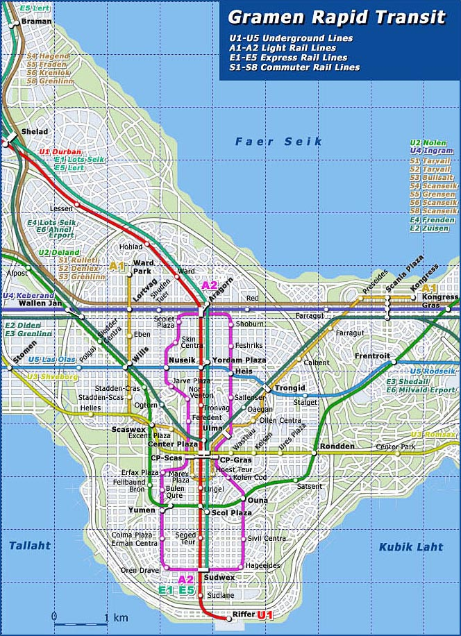 Gramen public transit network