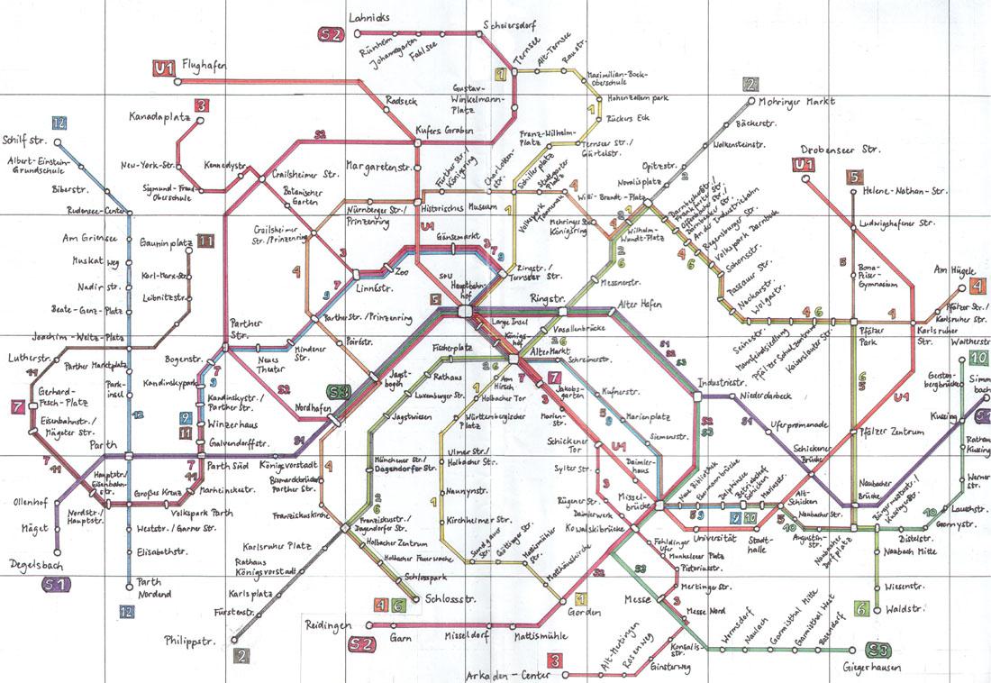 Jagemünd public transportation network
