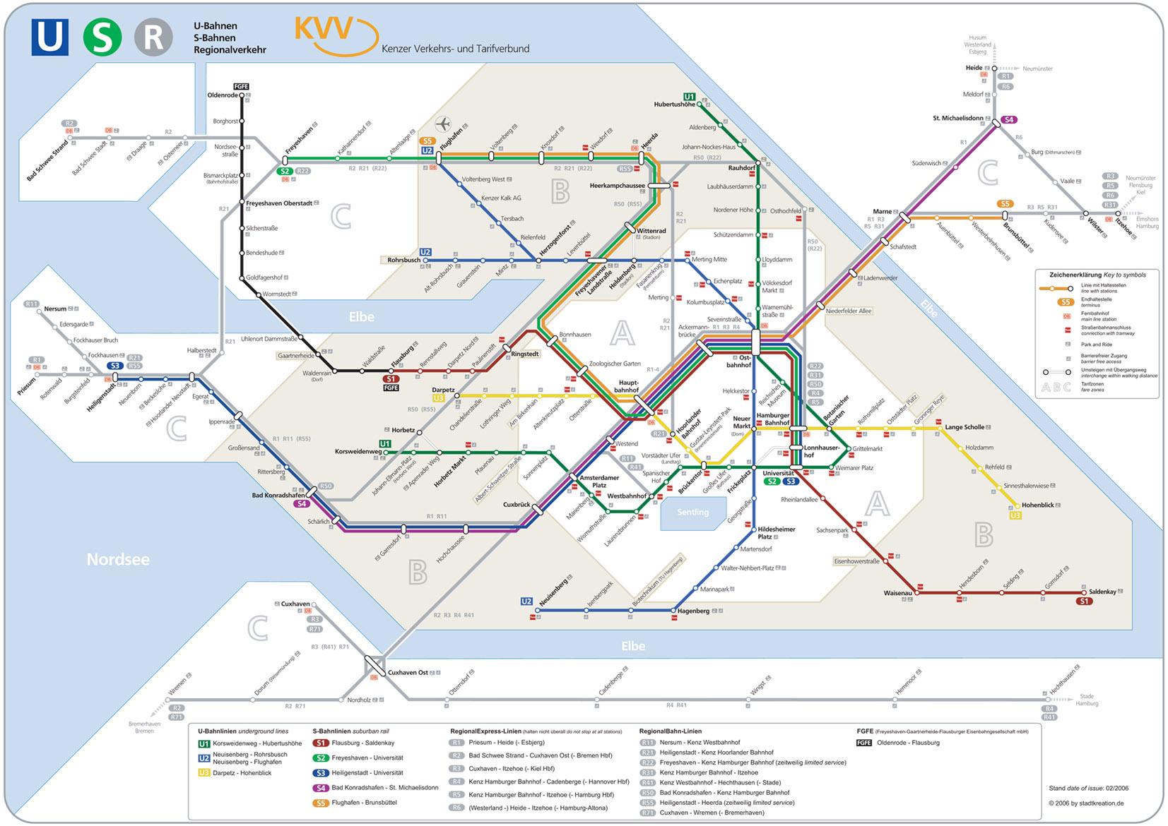 Kenz network map