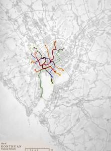 Konthuan tramway network