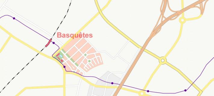 Trignon detail: ville de Basquêtes (fragment)