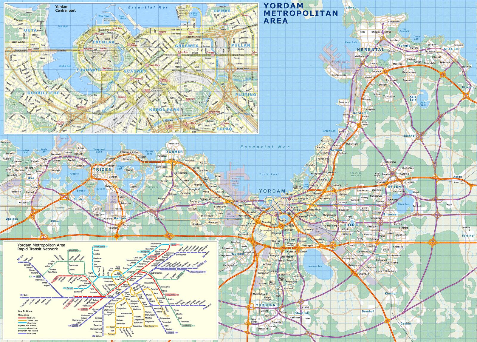 Yordam map