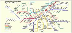 Yordam public transit network