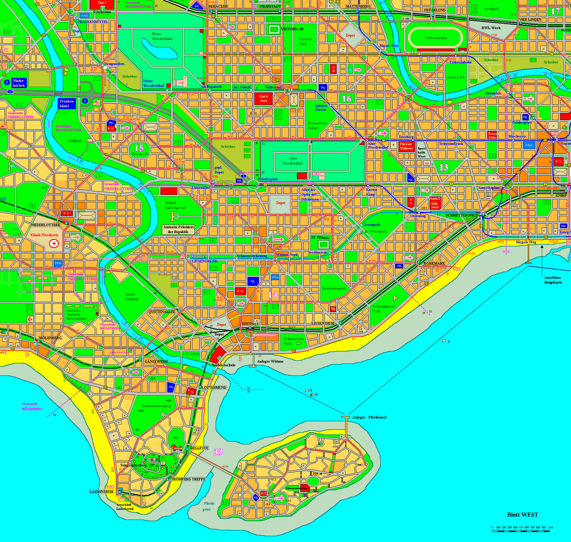 Holstenhafen map, part 1