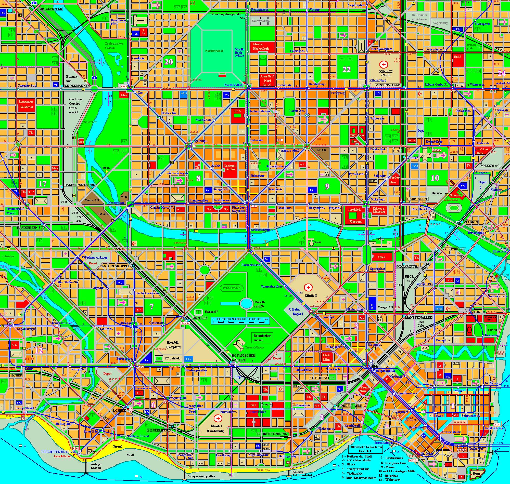 Holstenhafen map, part 2