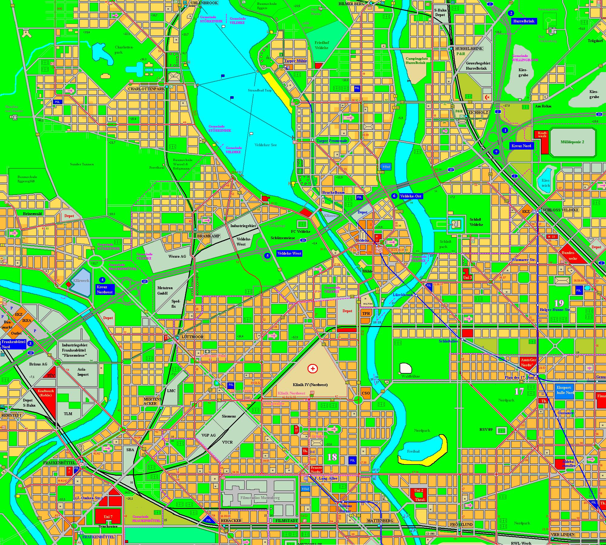 Holstenhafen map, part 4