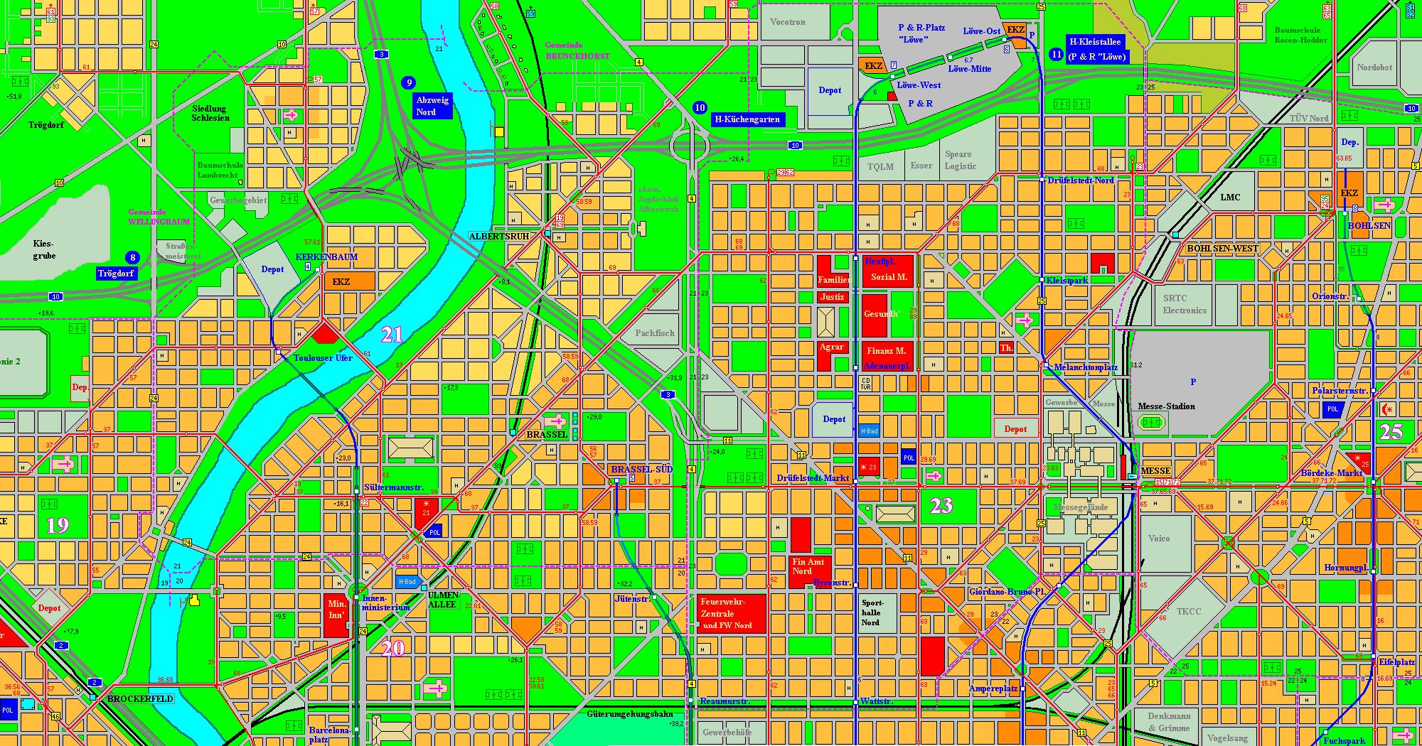 Holstenhafen map, part 5