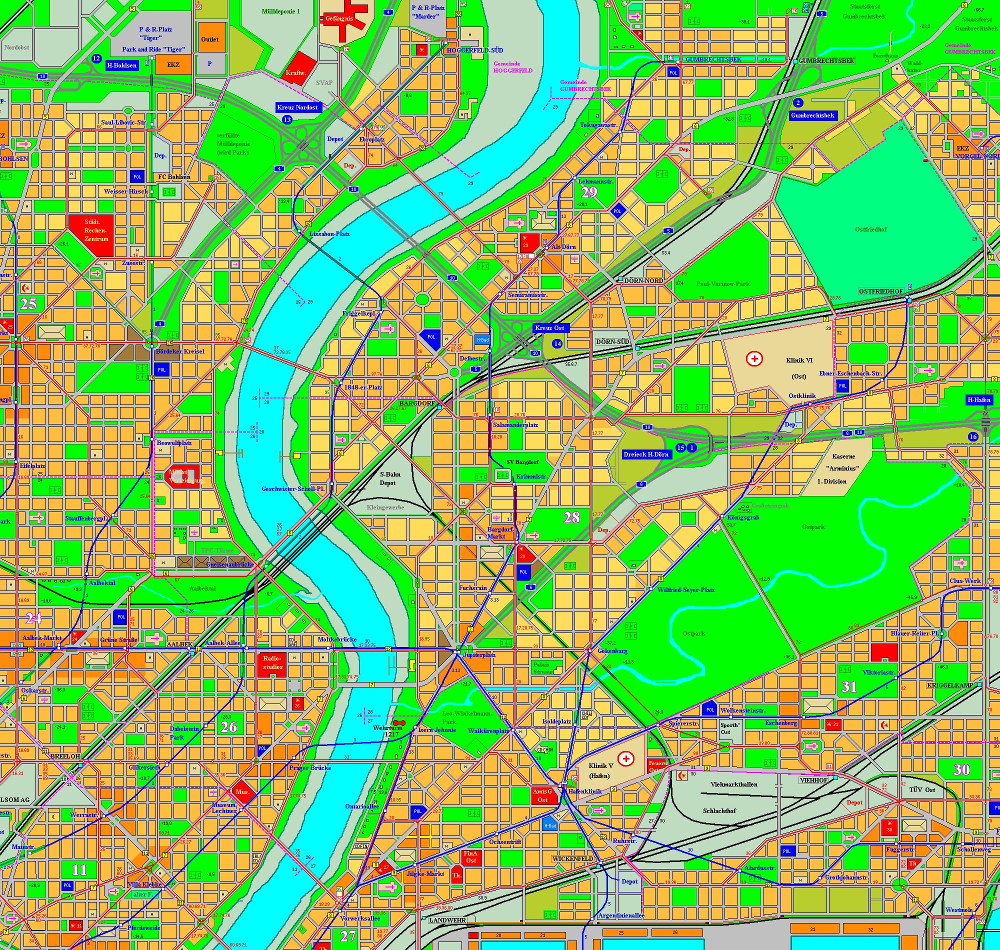 Holstenhafen map, part 6