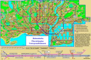 Holstenhafen metro map