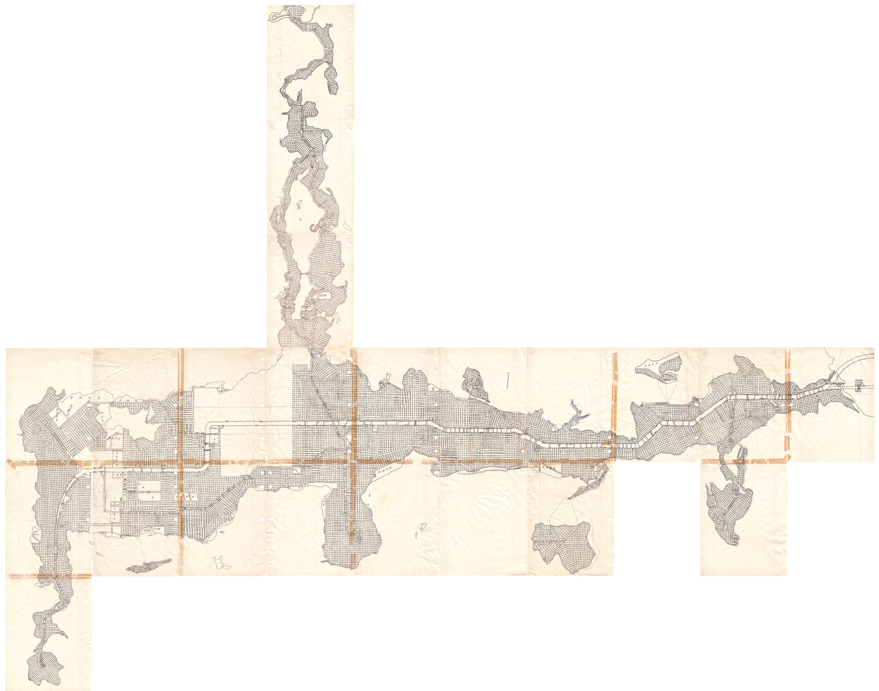 Highway focused map