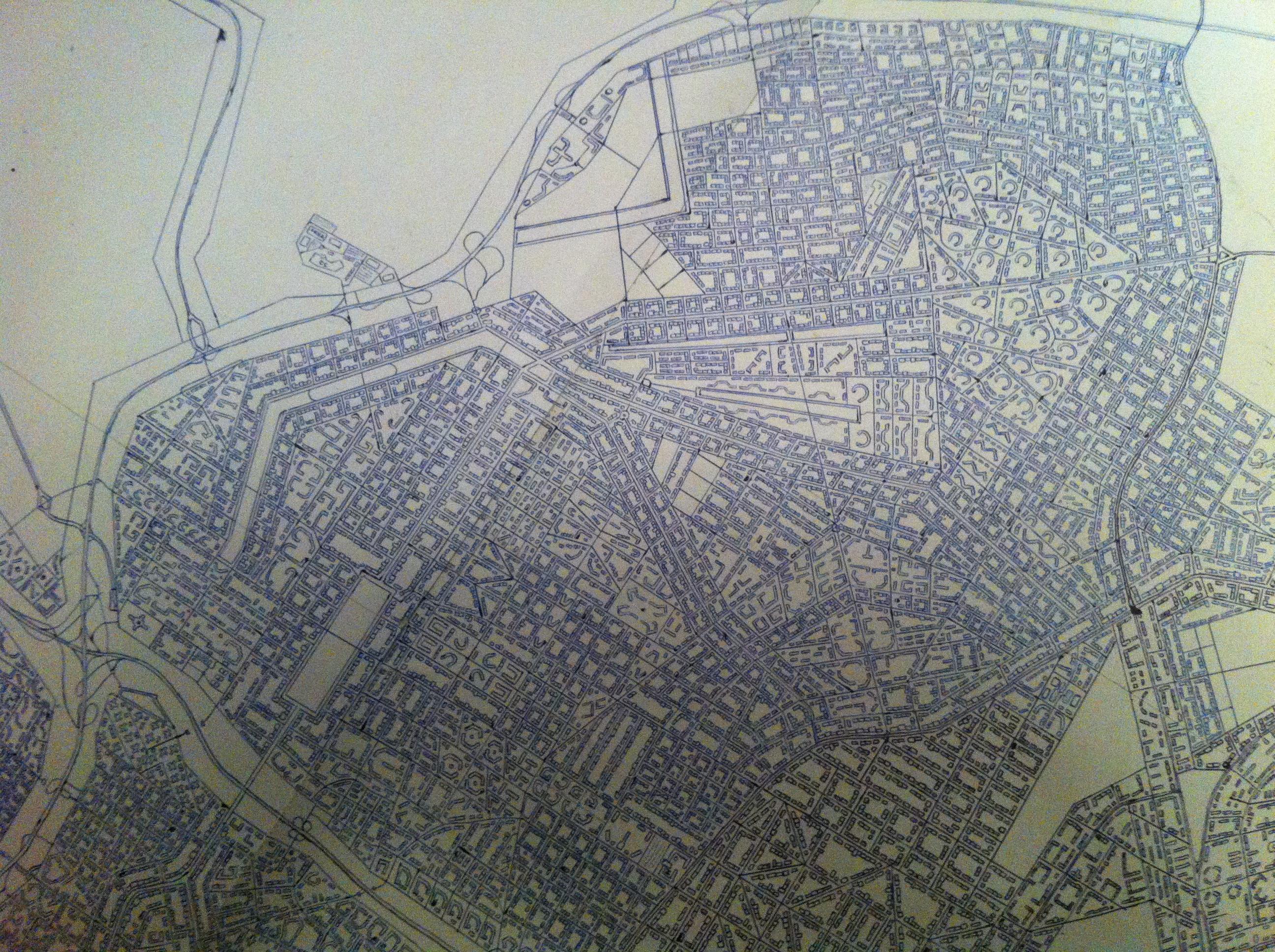Novo Guimarães detail 3 - northwestern part