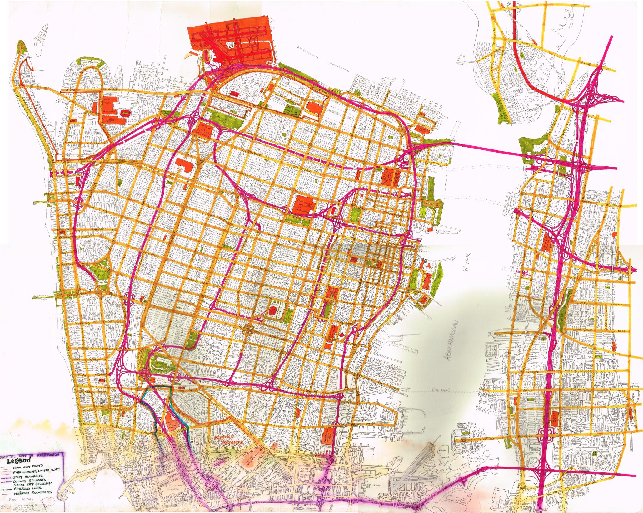 Reedsburg City Map