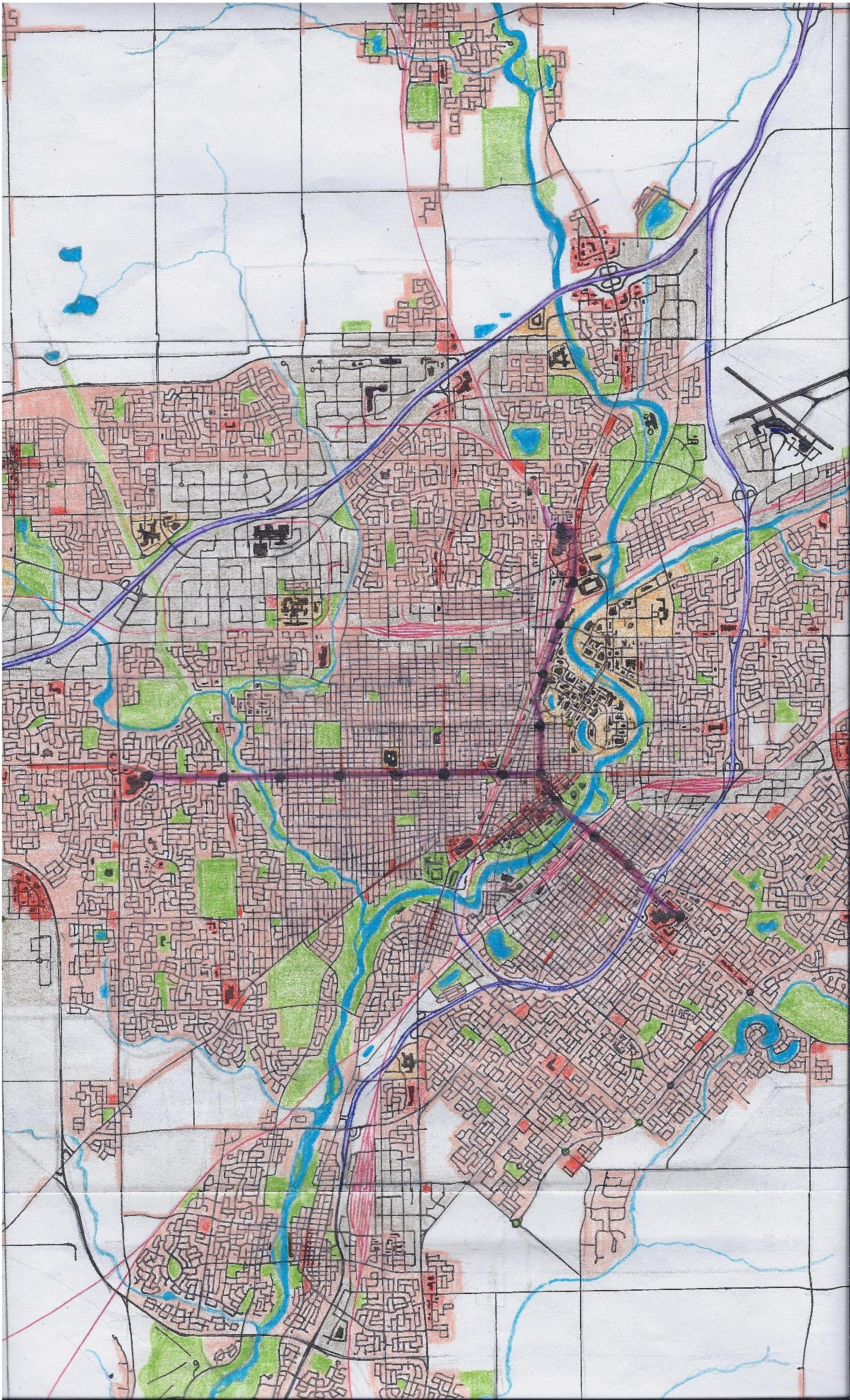 Anchester city map