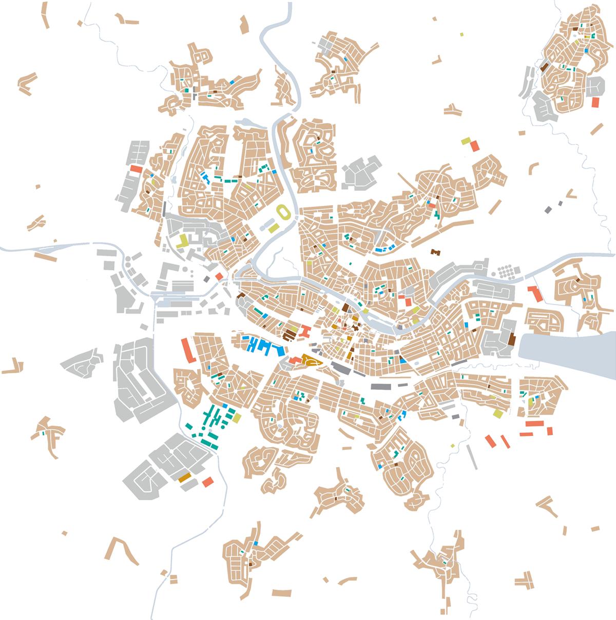 Pinscher cmap - urban areas