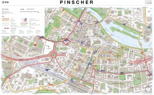 Pinscher City Centre Map