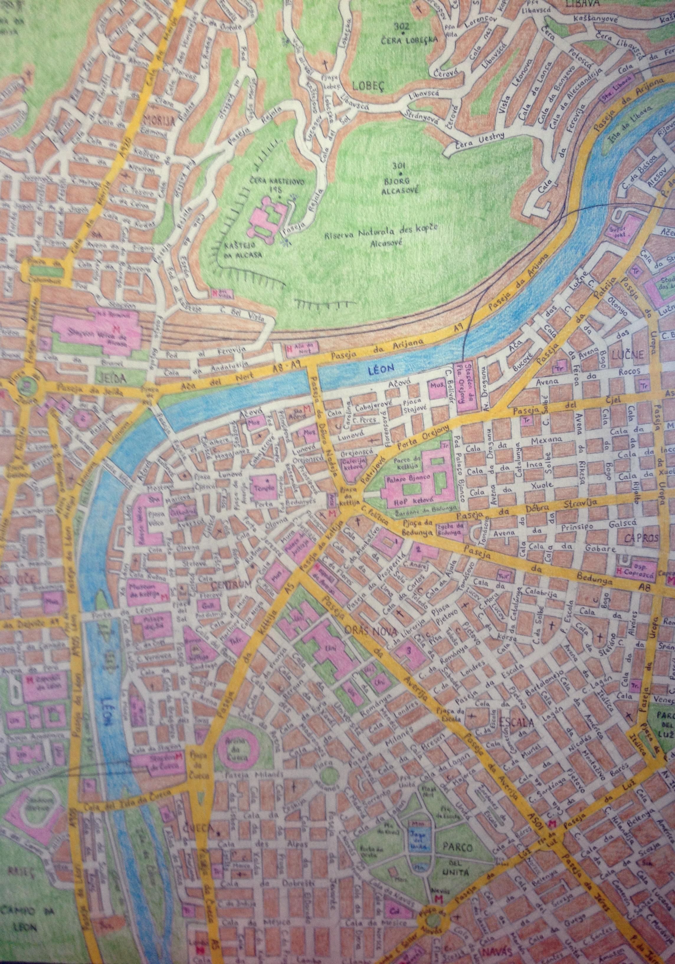 Alcassa Map, part 1